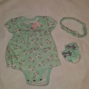Other - Unicorn outfit 0-3 months